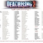 "Dead Rising 2: Full Clothing Checklist For ""Chuck Greene: Cross Dresser?"" Achievment/Trophy"
