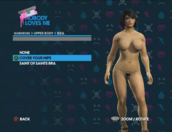 Saints Row The Third: How to Remove the Censor Bar