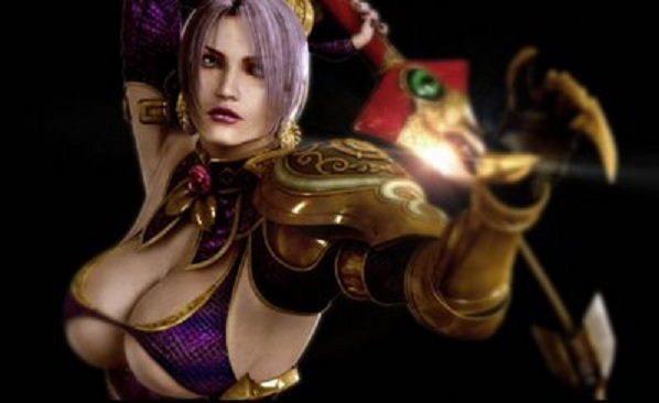 Soul Calibur 5: Ivy's Huge Knockers