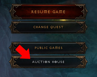 Diablo 3: How to access the Auction House