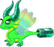 DragonVale Emerald Dragon Breeding
