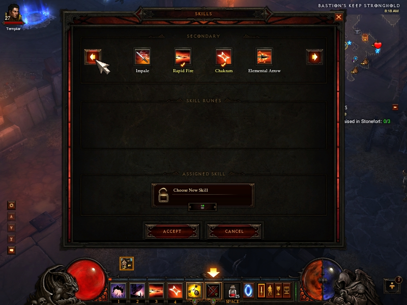 Diablo 3: Customize Skills
