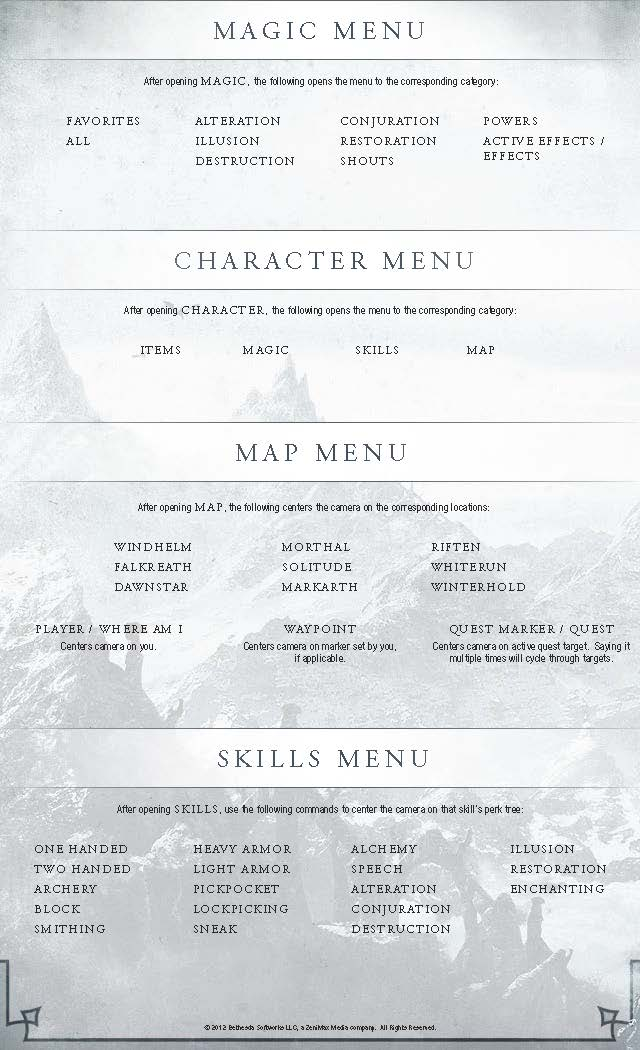 Skyrim: How to use voice commands - page 4