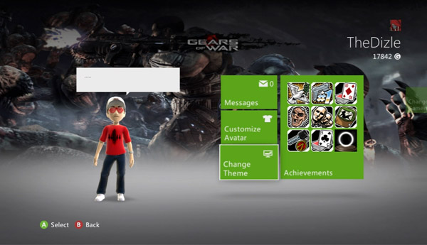 How to change your theme on the Xbox 360