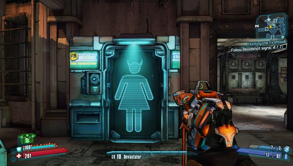 How to change your appearance in Borderlands 2