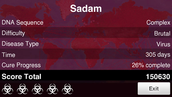 How to beat Virus on Brutal in Plague Inc.