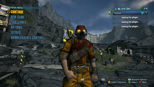 How to change characters in Borderlands 2