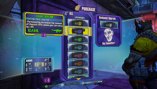How to increase your ammo capacity in Borderlands 2