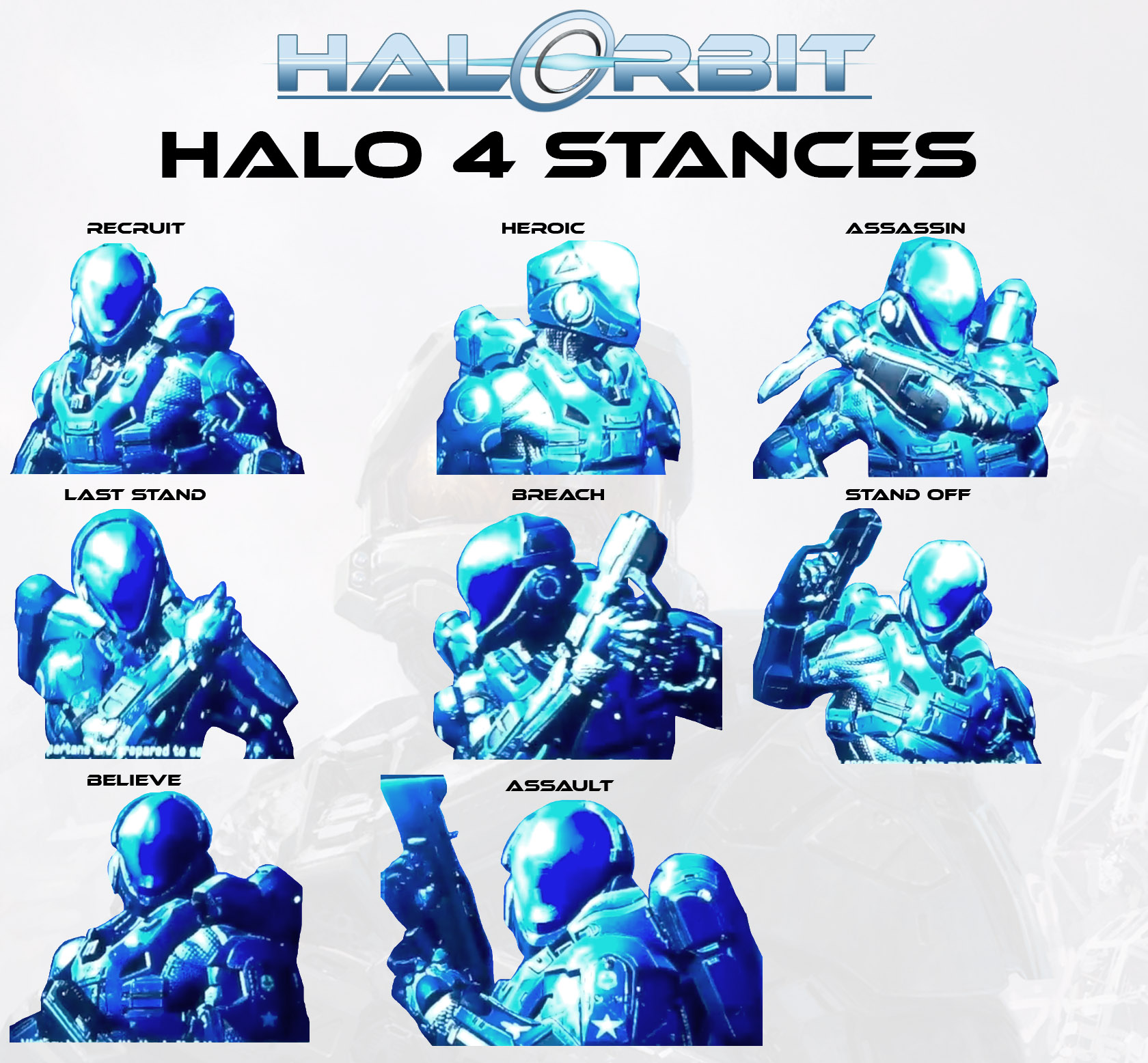 How to unlock stances in Halo 4