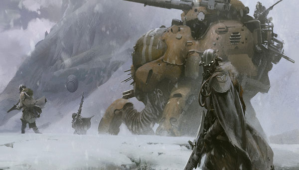 Concept art for Bungie's new game Destiny