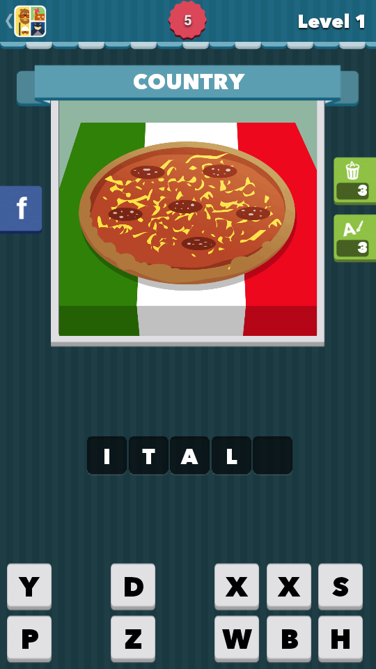 Icomania Level 1 Answers - Italy