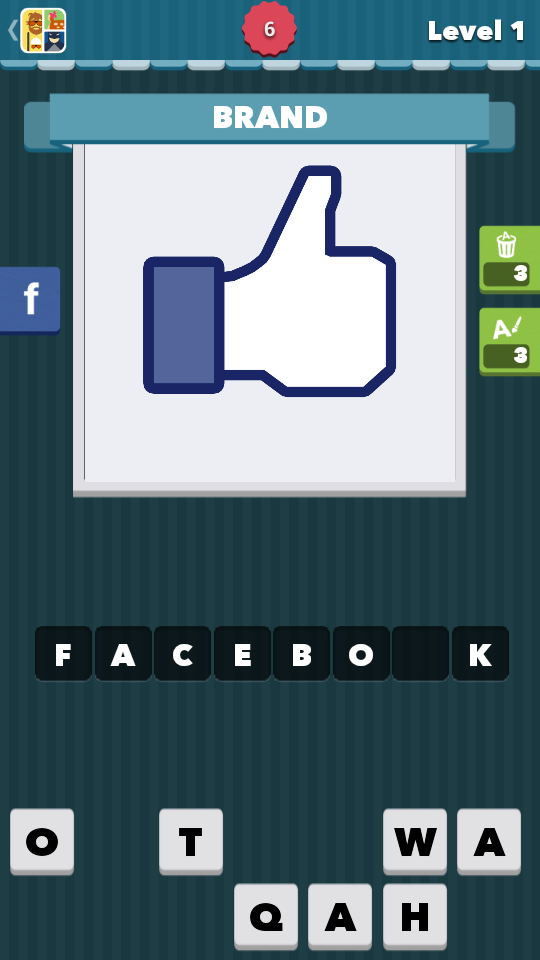Icomania Level 1 Answers - Facebook