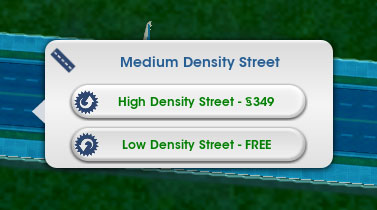 How to upgrade roads in SimCity 5