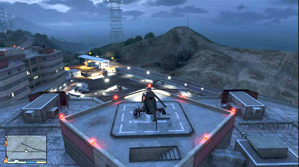 How to get a Buzzard Attack Helicopter in Grand Theft Auto 5