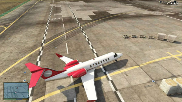 How to get a plane in Grand Theft Auto 5