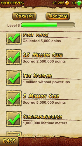 How to get The Spartan objective in Temple Run 2