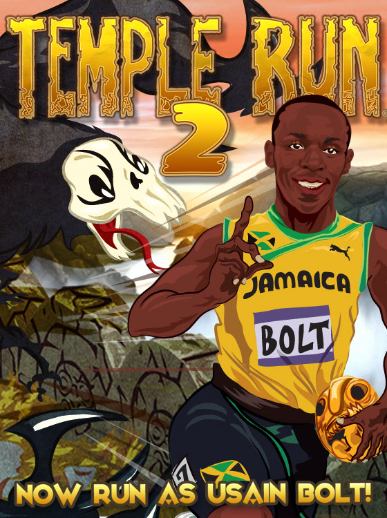 How to get Usain Bolt in Temple Run 2