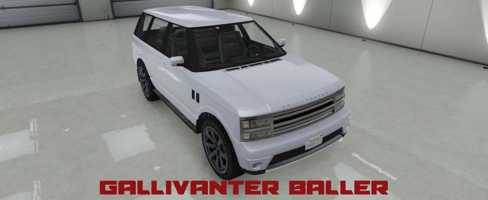 Gallivanter Baller in GTA Online & GTA 5