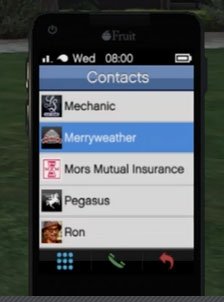 How to call Merryweather in GTA Online