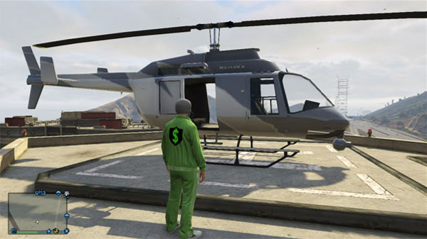 Where to steal a helicopter in GTA Online