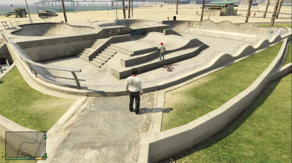 Grand Theft Auto 5 How to Find the Skate Park