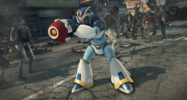 Dead rising 3 how to unlock the mega man x costume blaster dead rising 3 how to unlock the mega man x costume blaster malvernweather Choice Image