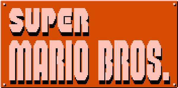 Super Mario Brothers Logo