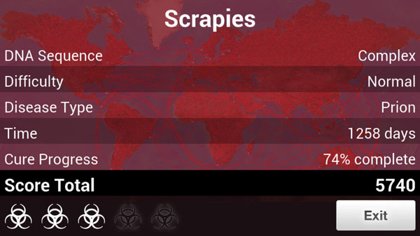 Plague Inc - How to beat Prion on Normal