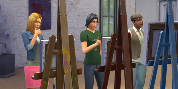 The Sims 4 Painting for Money
