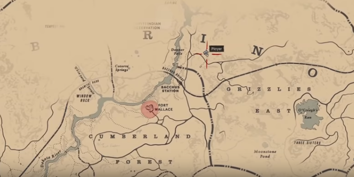 Red Dead Redemption 2 1500 Gold Bar Map