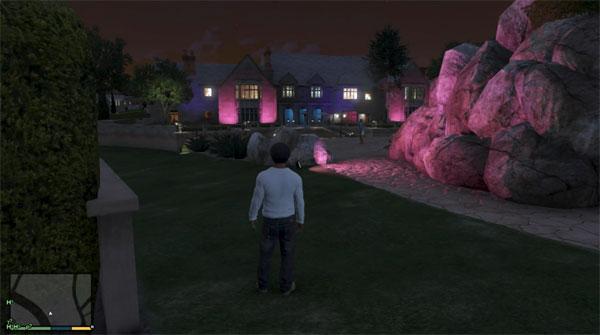 Grand Theft Auto 5 Mansion Location
